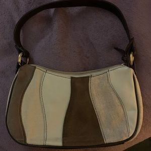 Franco Sarto Tan/Brown Shoulder Purse